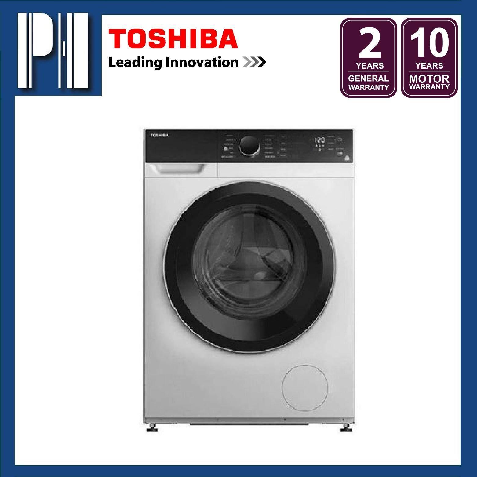 TOSHIBA TW-BH105M4M 9.5KG Inverter Front Load Washing Machine/Washer