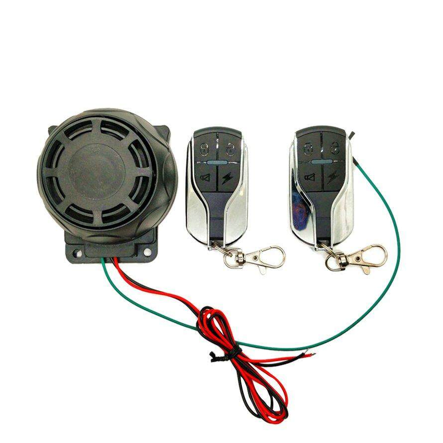 OSMAN Remote Control Motorcycle Alarm Security System Protection Alarm System