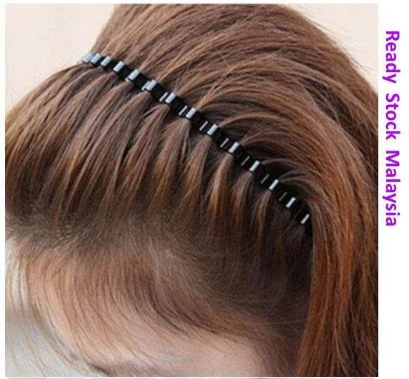 2 pcs Men Women Unisex Styling Tool Hair Head Band Headband Hairband  Accessories 46359b7f5e