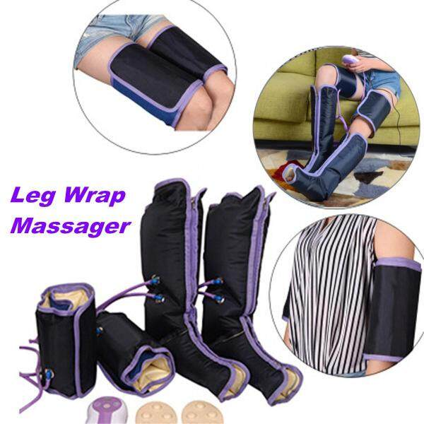 Healthcare Air Compression Leg Wrap Calf Arm Ankles Circulation Therapy Massager