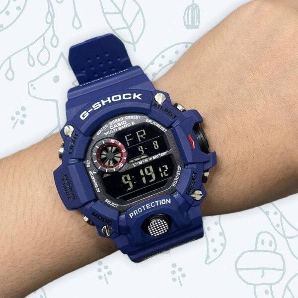 Jam Tangan Casio_G-Shock_Rangeman GW-9400 Blue (Biru) Resin Band Men Sports Watch Skali Free Gift Malaysia
