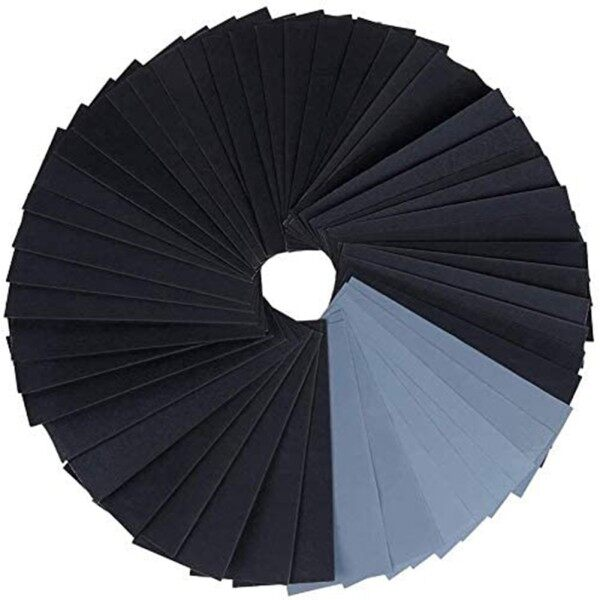 Sand Discs 120-3000# Sand Papers 70pcs Sander Set Wet And Dry Wood Buffing