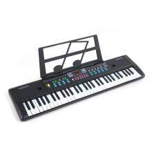 61 Phím Nhạc Cụ Trẻ Em Màn Hình Kỹ Thuật Số Piano Điện Tử Có Micrô 76x20x5.6cm