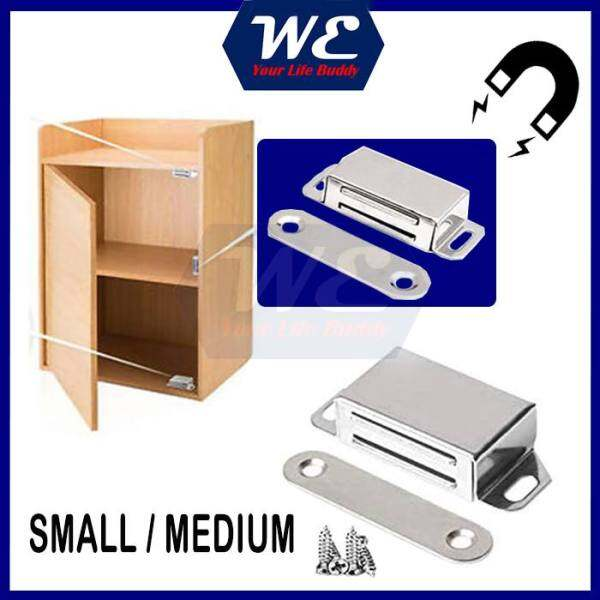 Magnetic Catch Cupboard Door Latch Cabinet Hardware Catch Magnet Strong Stainless steel