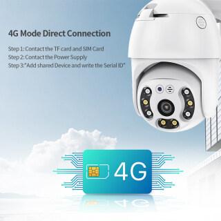 Camera IP Inqmega 4G PTZ Speed Dome 1080P Thẻ Sim Mạng Wifi Không Dây Ngoài Trời Camera An Ninh Bảo Mật Giám Sát Camera Không Thấm Nước thumbnail