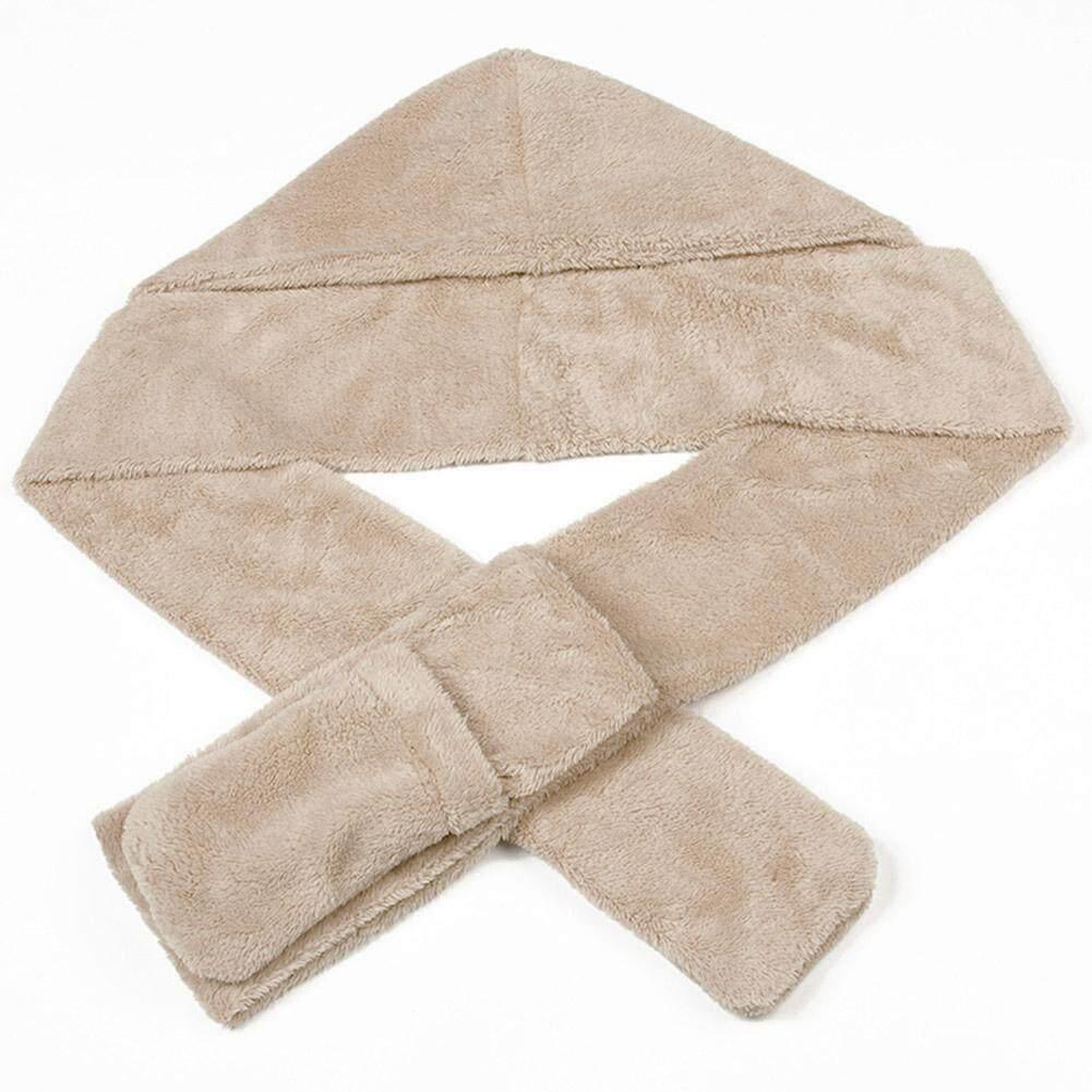 Giá bán Mùa đông Nữ 3 Trong 1 Scarfs + Tặng Khăn Choàng Nón Sang Trọng Sang Trọng Mũ Găng Tay Bộ Ấm Series