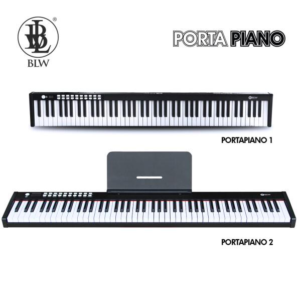 BLW PORTAPIANO 88 Keys Portable Digital Electric Electronic Piano Keyboard for Music Practice & Performance Malaysia