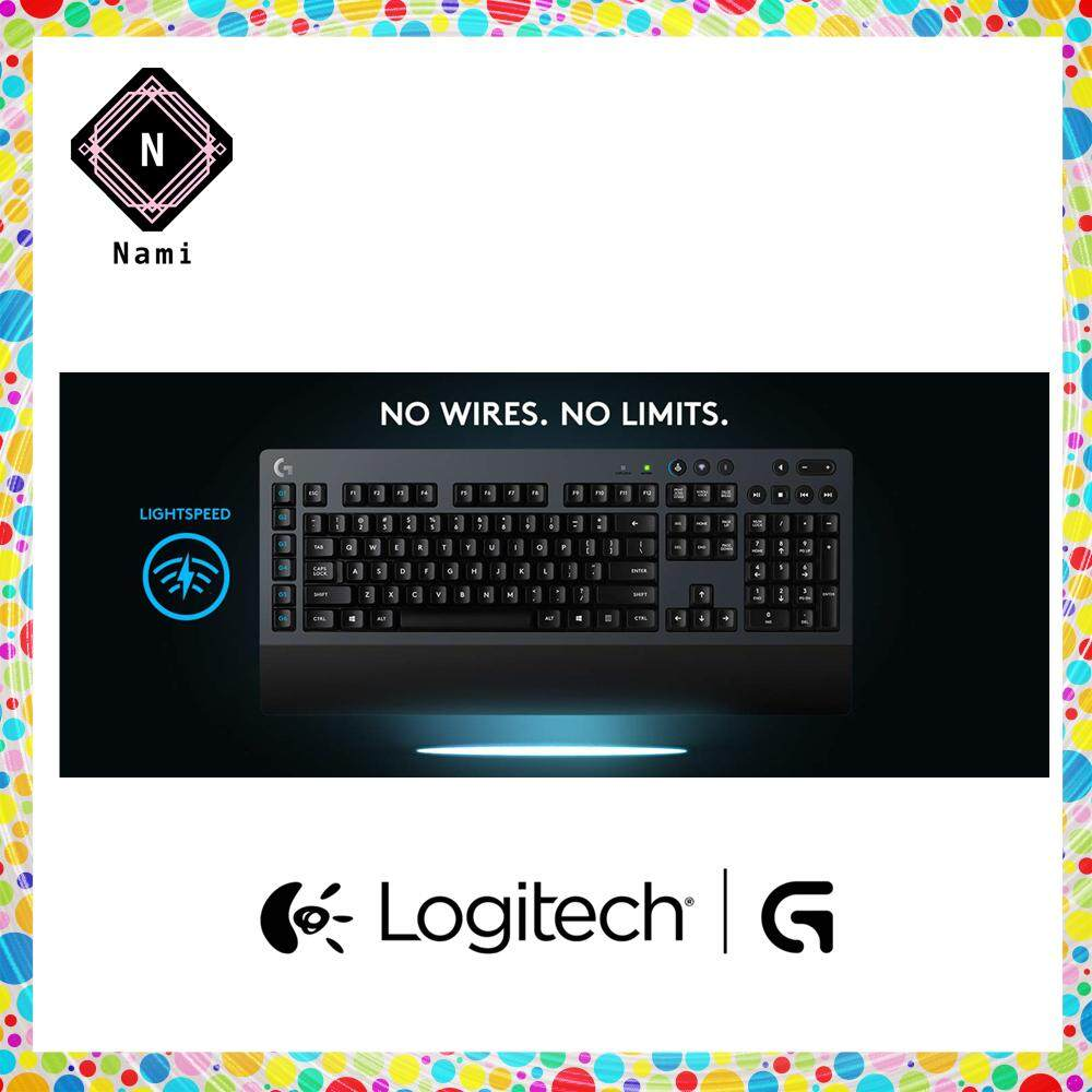 Logitech G613 Wireless Mechanical Gaming Keyboard (Double Bubble Wrap Packing + Fragile Sticker) Malaysia