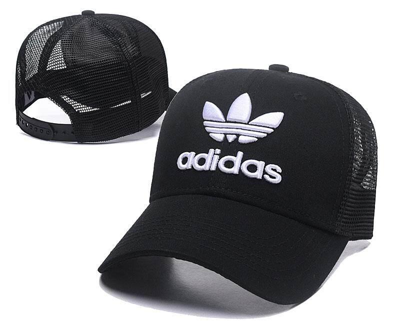 f95acca2891 Adida Baseball Cap Women Men Mesh Breathable Snapback Cap Unisex Adjustable  Sport Hats