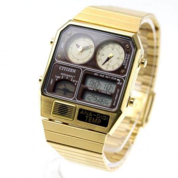 [Citizen] CITIZEN ANA DIGI TEMP ANA-DIGI TEMP Reprint Model Watch Gold JG2103-72X Malaysia