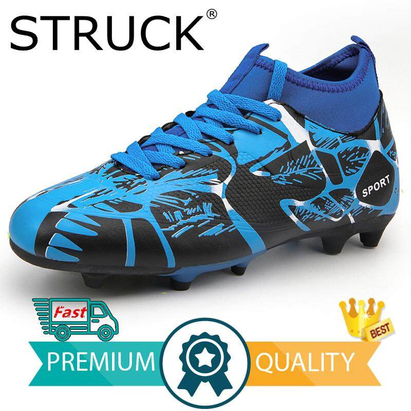 official photos 3c5cb 44708 STRUCK 2018 Size 33-44 Men Boy Kids Soccer Cleats Turf Football Soccer Shoes  TF