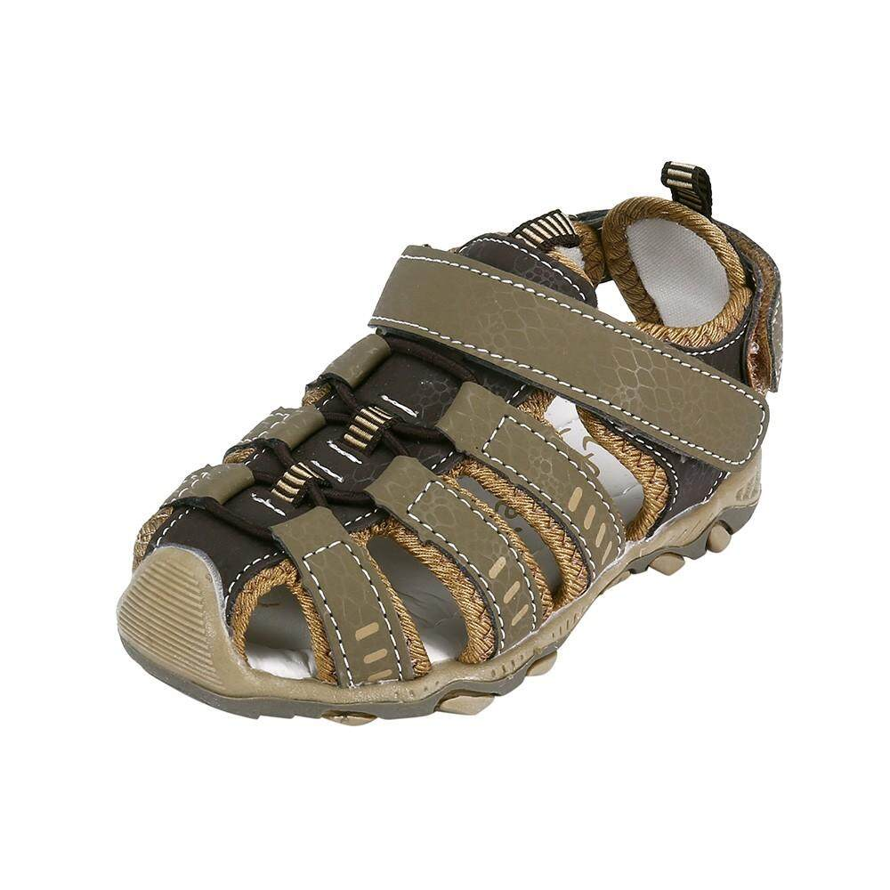 4738b3724f2b94 Summer Fashion Children Infant Kids Shoes Boy Girl Closed Toe Beach Sport Sandals  Shoes Sneaker Sandals