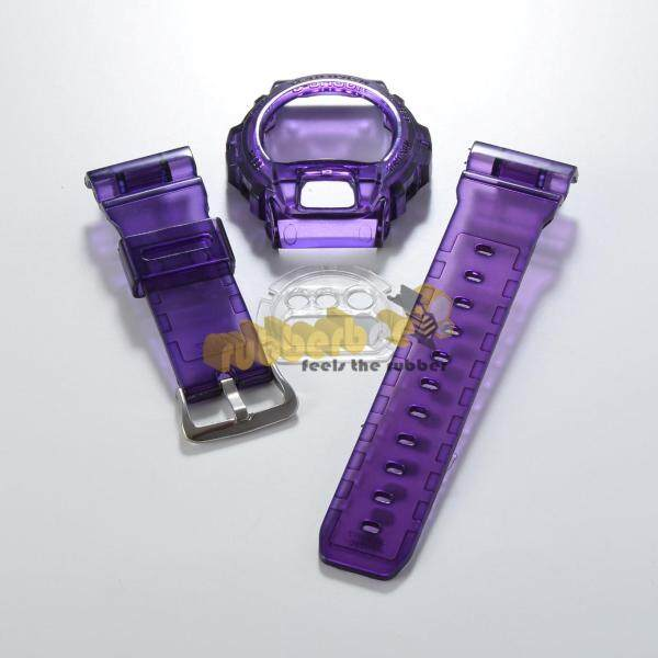 [RBB] DW-6900 BNB JELLY PURPLE BAND AND BEZEL Malaysia