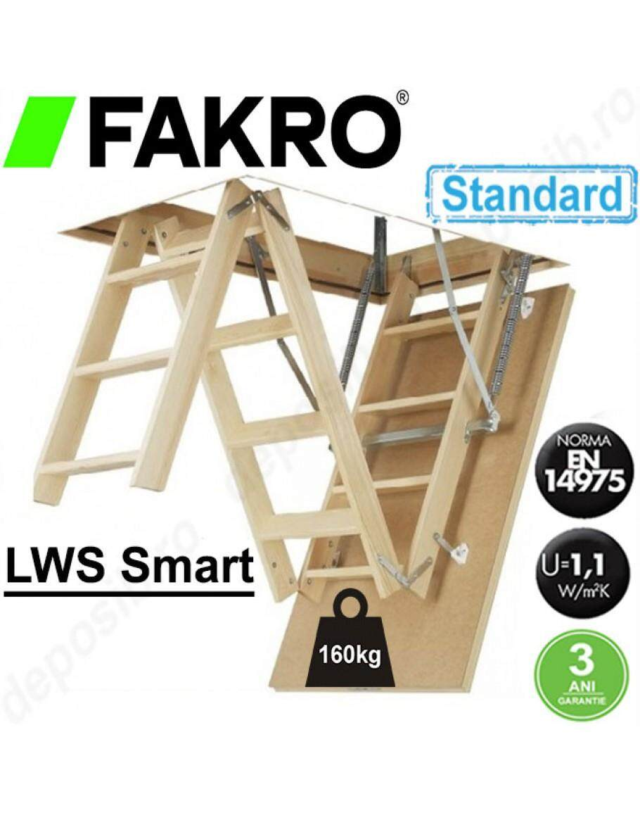 Fakro LWS Wooded Attic Ladder