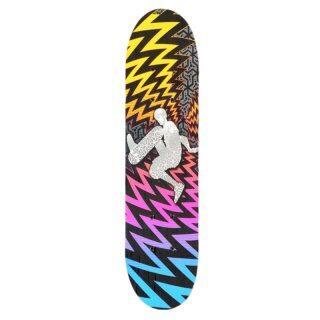 Ván Trượt Lõm Hai Tầng Longboard Skate Bảng Ván Trượt Bốn Bánh Dành Cho Thanh Thiếu Niên, Giày Trượt Ván Phong Hai Đầu thumbnail