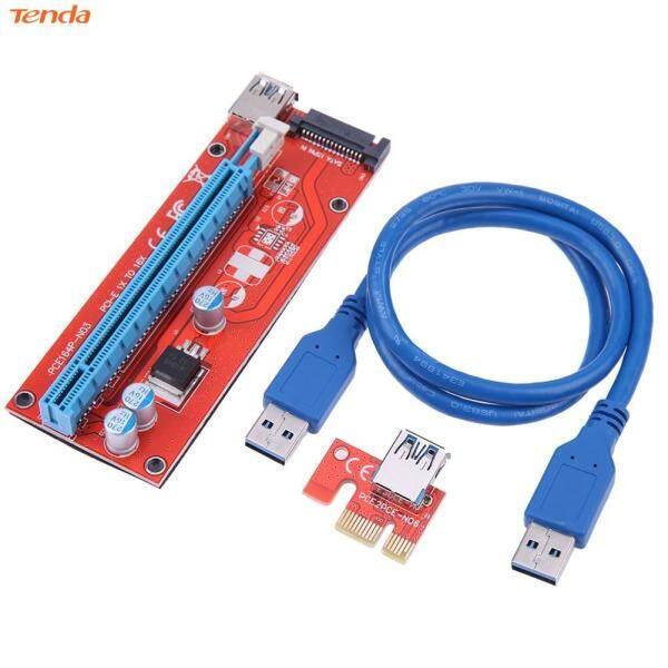 Bảng giá 60Cm 007S PCI-E Riser 1X 16X USB3.0 Adapter Thẻ Cáp Dây Cho Thợ Mỏ BTC (Hàng Có Sẵn) Phong Vũ