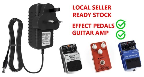 Power Adapter For Guitar Effect Pedal 9V AC/DC Malaysia