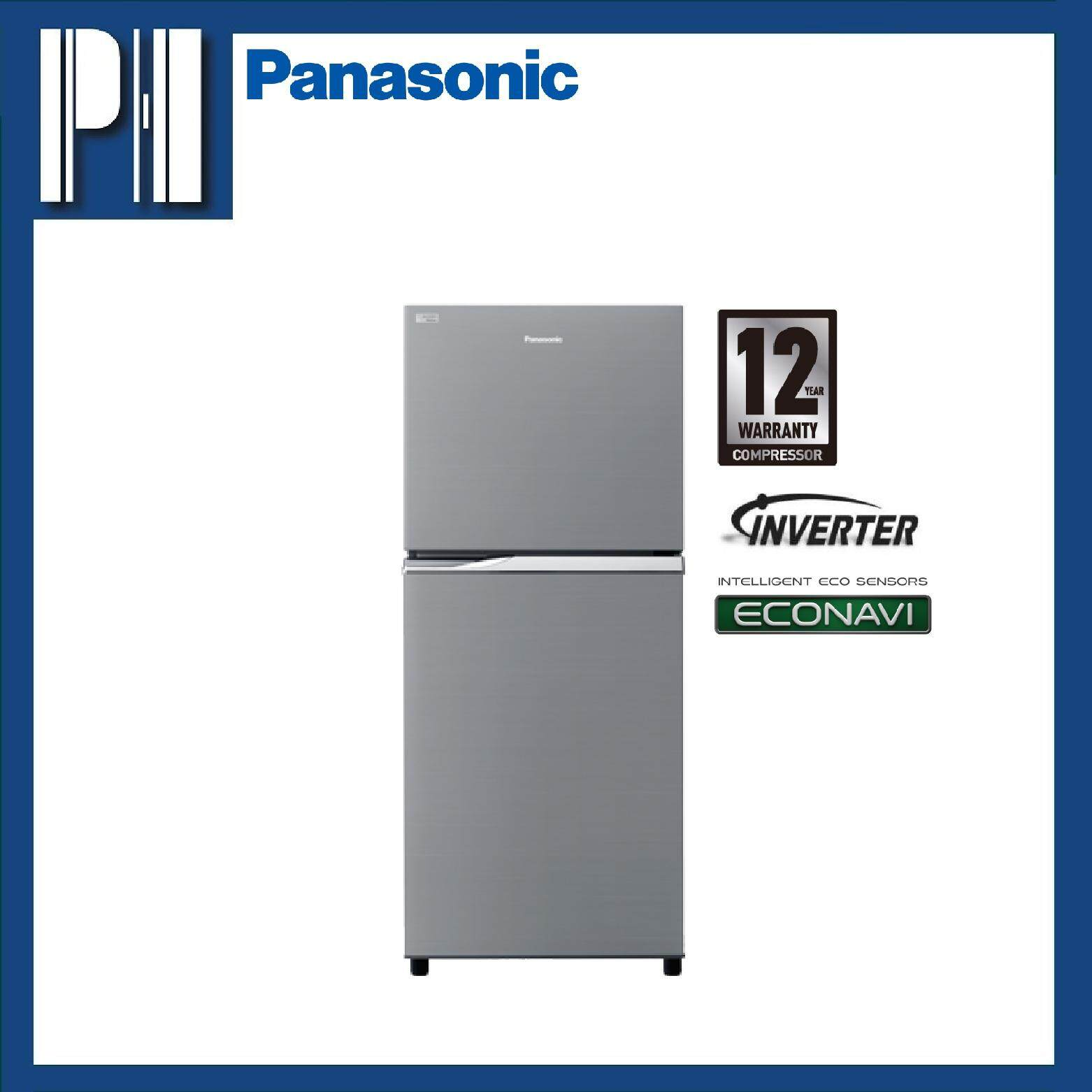 PANASONIC NR-BL268PSMY 262L ECONAVI Inverter 2-Door Top Freezer Refrigerator