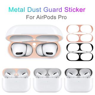 2 Tai Nghe Không Dây Airpods Pro Tai Nghe Bluetooth Có Họa Tiết Cá Tính Kim Loại Chống Bụi Bảo Vệ Da Miếng Dán Chống Bụi Và Sắt thumbnail