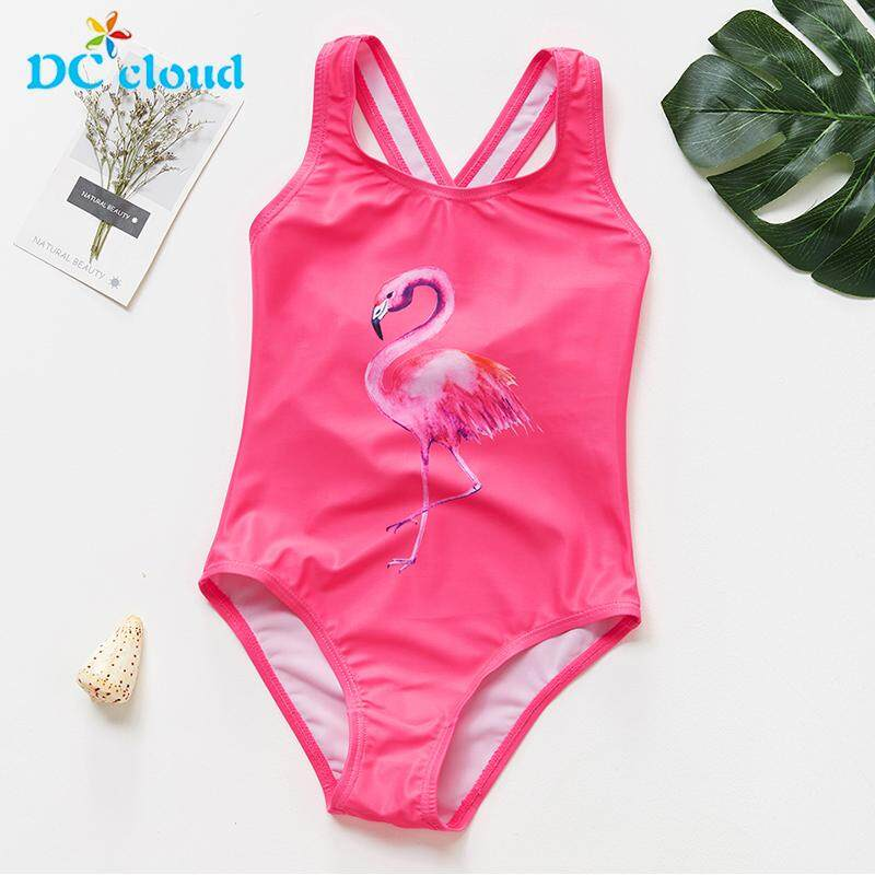 2ad46a5b38 Girls Swimwear 2 to 6Years Children Swimsuits One Piece Girls Swimming  Suits Kids Bathing Suits Beachwear