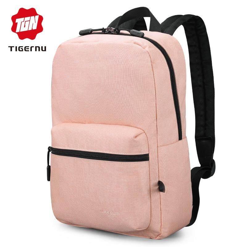 Tigernu New Fashion Women Pink School Bag For Girl Summer Travel Backpacks Casual Waterproof Bag