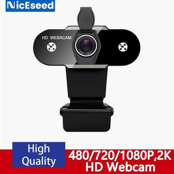 Bảng giá Webcam USB NicEseed HD 480P/720P/1080P/2K Camera Máy Tính Có Micrô Chống Ồn Với Vỏ Bảo Vệ, Chống Bụi Xoay Cho Cuộc Gọi Video Trực Tiếp Phong Vũ