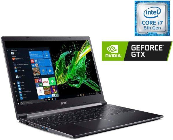 Acer Aspire 7 Laptop, 15.6 Full HD IPS Display, 9th Gen Intel Core i7-9750H, GeForce GTX 1050 3GB, 16GB DDR4, 512GB PCIe NVMe SSD, Backlit Keyboard Malaysia