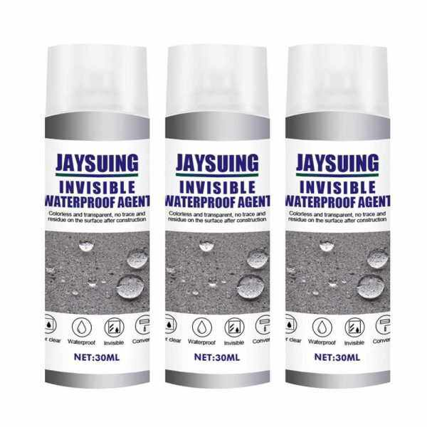3PCS 30ml Waterproofing Agent Strong Bonding Spray Adhesive Sealant Roof Exterior Wall Toilet Transparent Spray Glue (2)