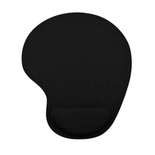 Soft Solid Color Thick Wrist Protective Fabric EVA PU Gaming Mouse Pad Colorful Mat Non Slip Gift