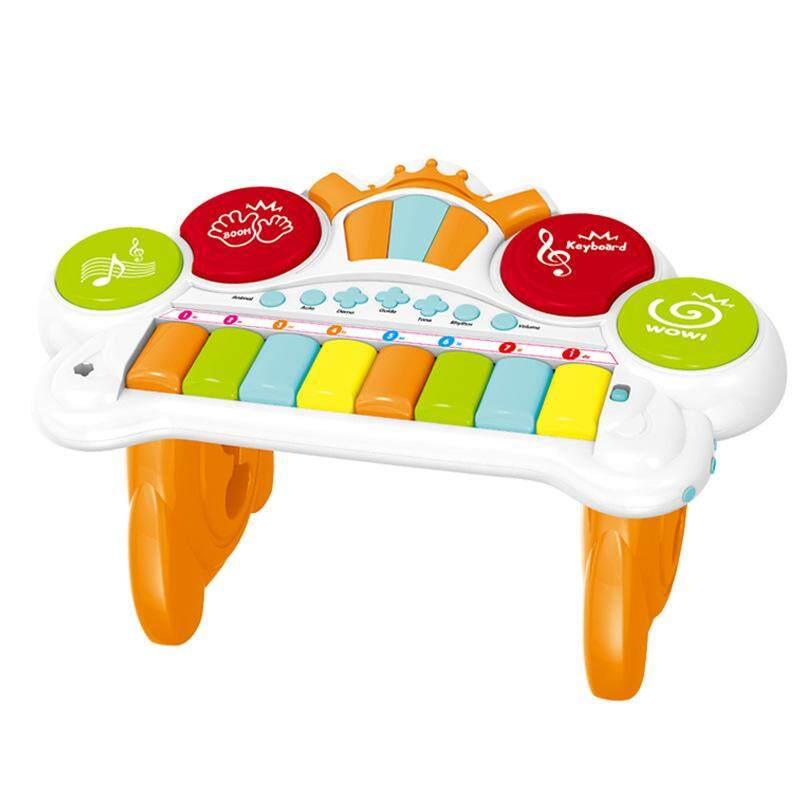 Anak-Anak Mainan Alat Musik Pengembangan Awal 8-Kunci Organ Elektronik By Devo Ting.