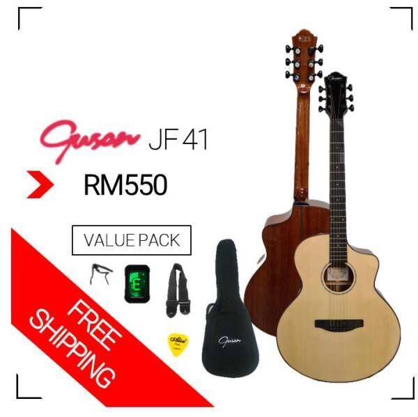 GUSON JF41 [Acoustic guitar] Malaysia