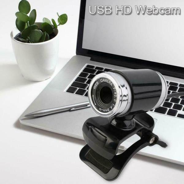 720P HD Webcam Potable Universal USB 2.0 Digital Computer Camera with Acoustic Microphone for Laptops Desktop Computers