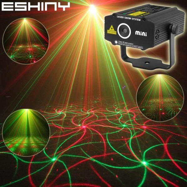 Đèn Led Laser Pha Máy Chiếu Cho R & G Tự Động/Thoại Xmas DJ Disco Với Bộ Điều Khiển Từ Xa Điều Khiển Bằng Giọng Nói