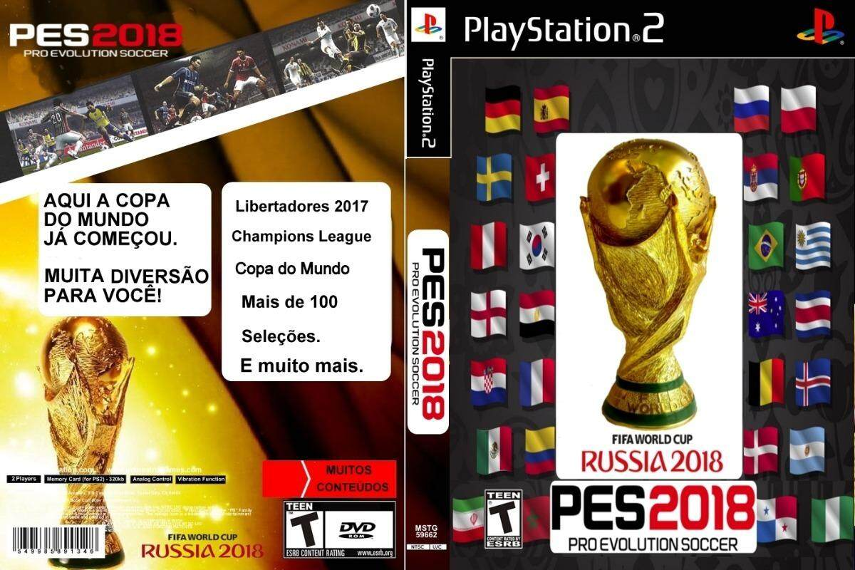 PS2 GAMES WORLD CUP PES 2018