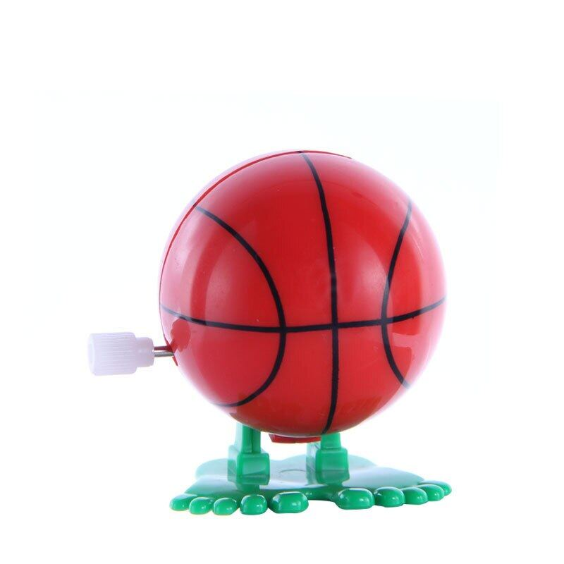 2pcs New Creative Childrens Clockwork Toys On The Chain Jump Basketball Stand Vendor Activities Gift Jooyoo.