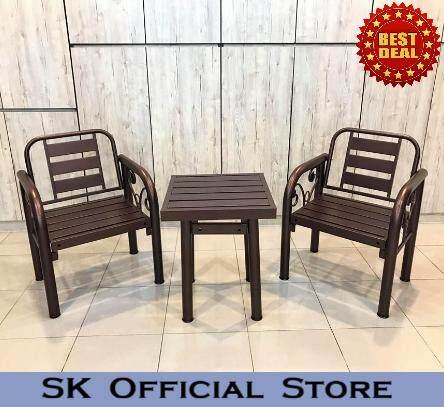 Outdoor Furniture Bench Chair Set /garden Set/metal Chair Set/table Set/garden Furniture/garden Seating Table Chair/long Bench By Sk_furniturestore.