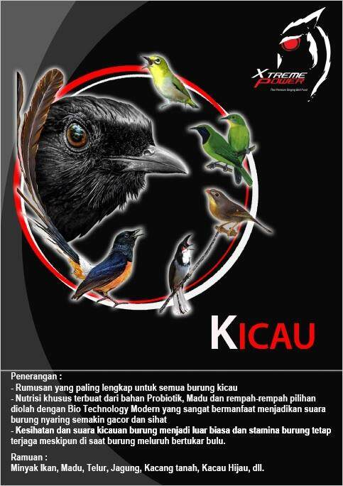 Xtreme Power Dedak Kicau By Mypets Gaspel.