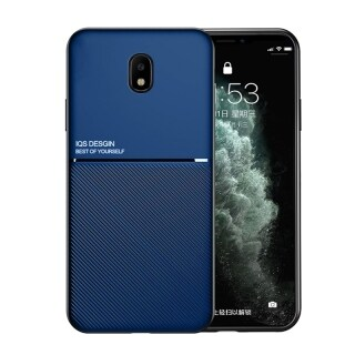 Ốp Honinga Ốp Cho Samsung Galaxy J7 Pro J7 2017 Ốp Kết Cấu Da Mỏng Fahion Ốp Bảo Vệ Điện Thoại Mỏng Mờ Ốp Lưng Chống Sốc Cove Ốp Điện Thoại Cầm Tay Ốp Cứng thumbnail
