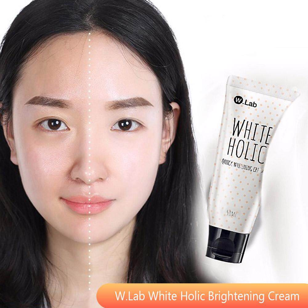 【new】w.lab White Holic Quick Instant Whitening Brightening Cream Lazy Person 50ml By Blelanda.