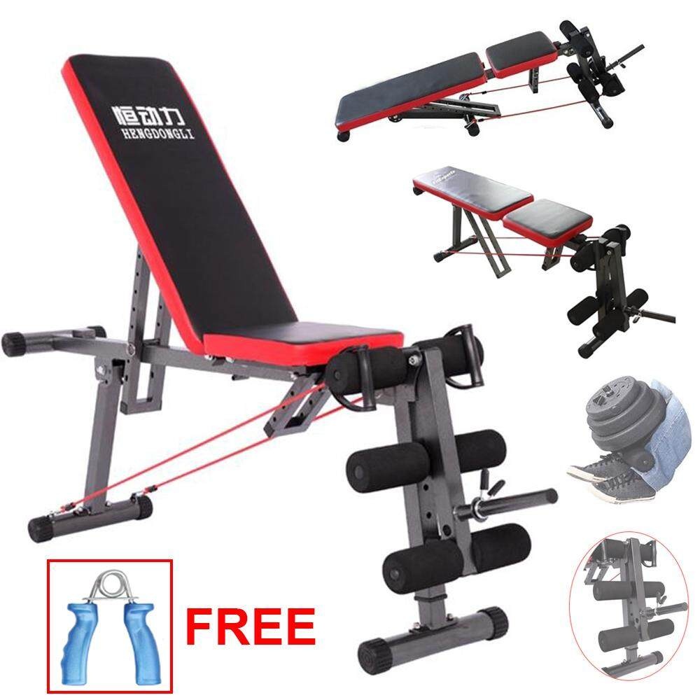 Sellincost Sit Up Dumbbell Bench Chair Weight Bench Six Pack Leg Exercise Free Hand Grip (jl-207f) By Sellincostasia.