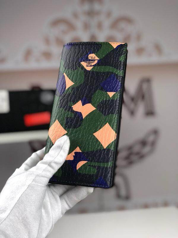 8020 MCM man 20 percent long wallet casual money clip holder with Doka