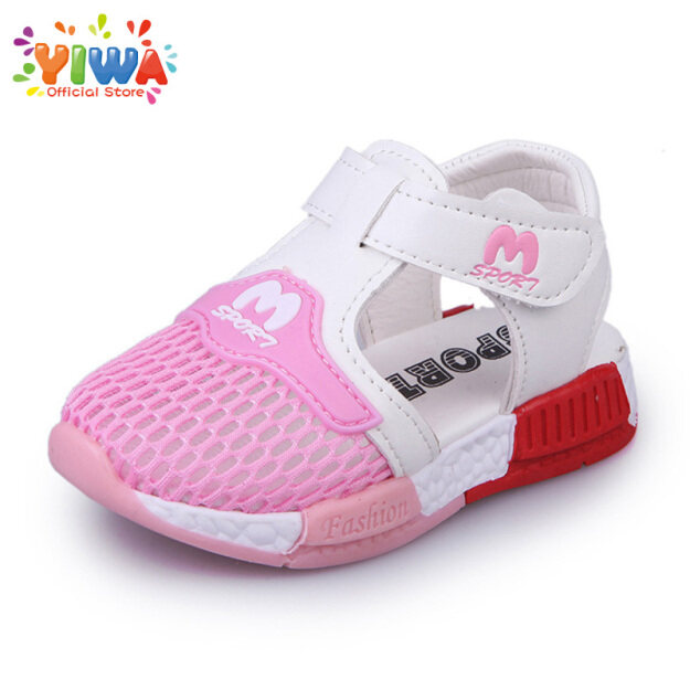 Dép Trẻ Em Yiwa Giày Thể Thao Thoáng Khí Cho Trẻ Em Xăng Đan Lưới 14-16Cm Giày Trẻ Em 1-3 Y giá rẻ