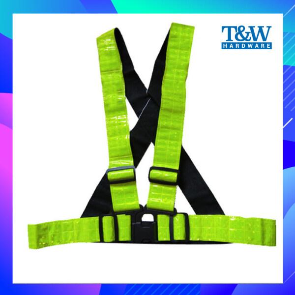 Safety Reflective Vest Fluorescent Green / Fluorescent Orange [T&W Hardware]
