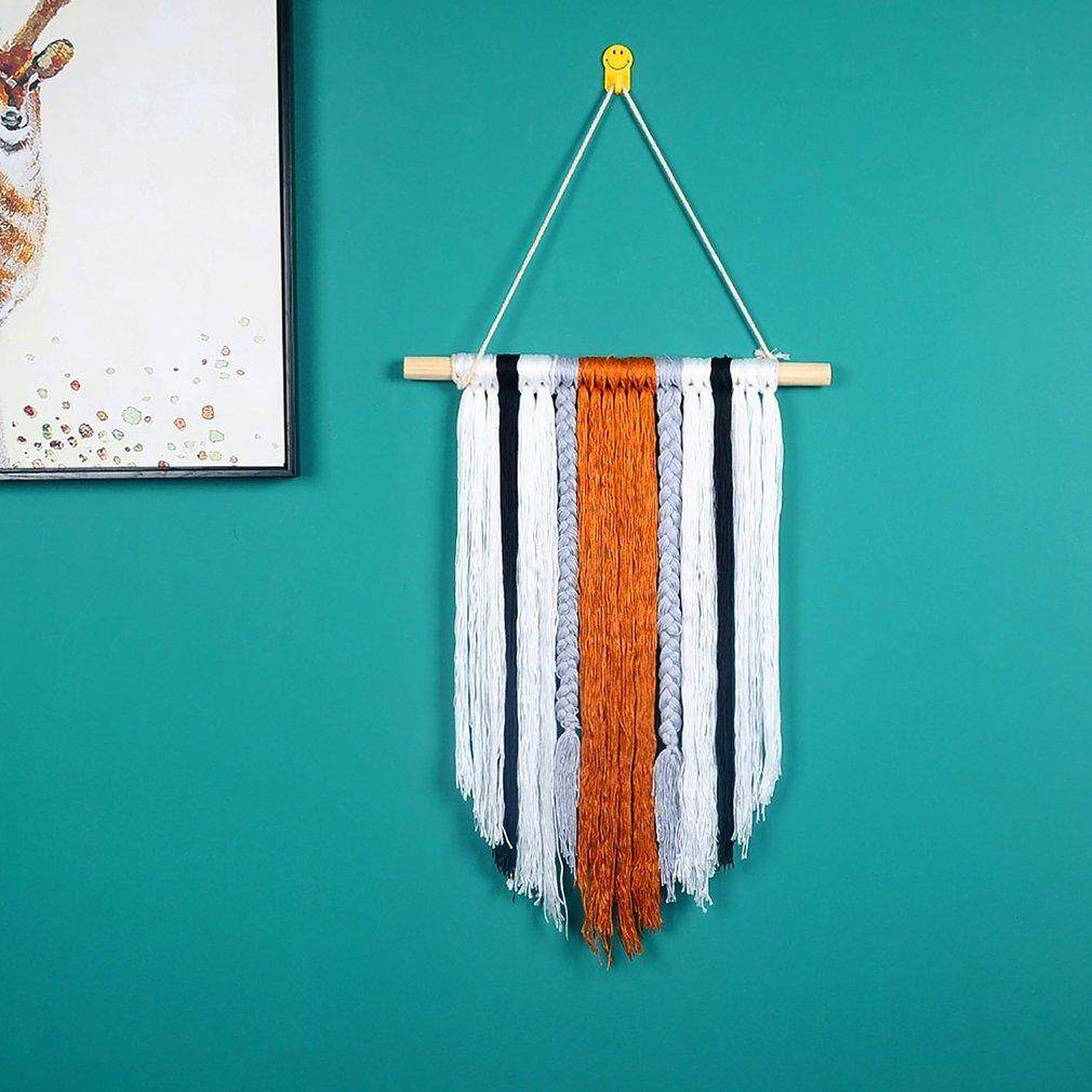 Top Sales Colorful Tassel Tapestry Wall Hanging Sandy Beach Throw Rug Blanket Bohemian