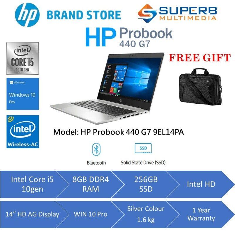 HP PRO BOOK 440 G7 NOTEBOOK - 9EL14PA ( INTEL I5 - 10210U / 8GB RAM / 256GB SSD / 14 FHD / NO ODD / WIN 10 PRO / 1YR WARRANTY ) Malaysia