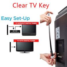 Ministar 1080 P Phím TV Trong Suốt HDTV 100 + Kĩ Thuật Số Cho TV HD Miễn Phí Ăng Ten Mini Trong Nhà Cáp Có Rãnh