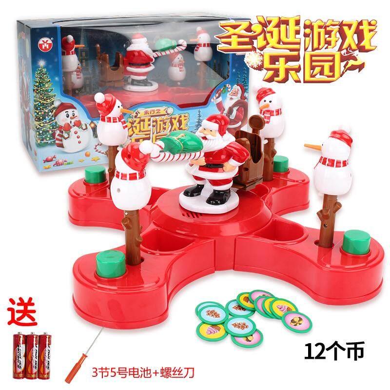 Shaking Toy Sound Children Christmas Gift Tabletop Game Early Childhood Educational Boys Girls Set Kindergarten Baby