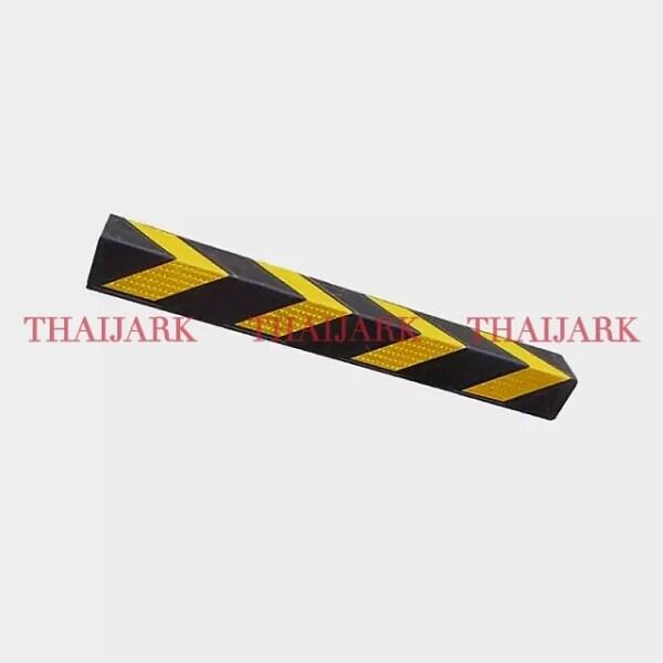 W x 100mm W x 1mtr L x 8mm THK, Rubber L-Angle bar, Wall Corner Protector, Rubber Pillar Guard - READY STOCK IN MALAYSIA