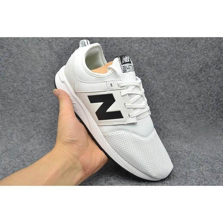 การใช้งาน  พังงา Original New Balance 247 nb247 สีขาวสำหรับรองเท้าผู้ชายผู้หญิงขนาด 36-44