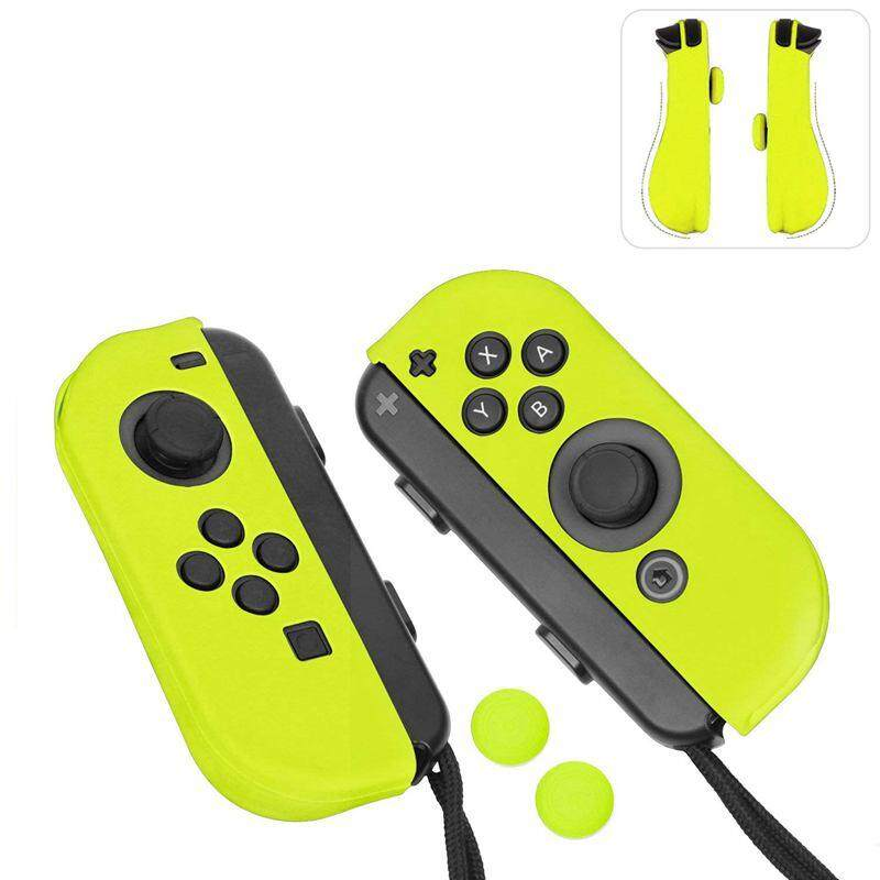Giá For Joy-Con Gel Guards with Thumb Grips Caps for Nintendo Switch